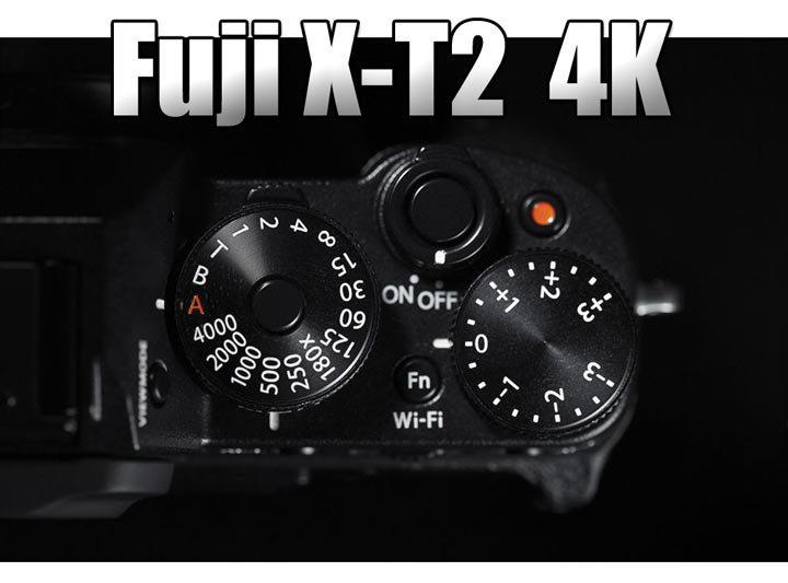 Беззеркальная камера с возможностью съемки 4k-видео от Fujifilm
