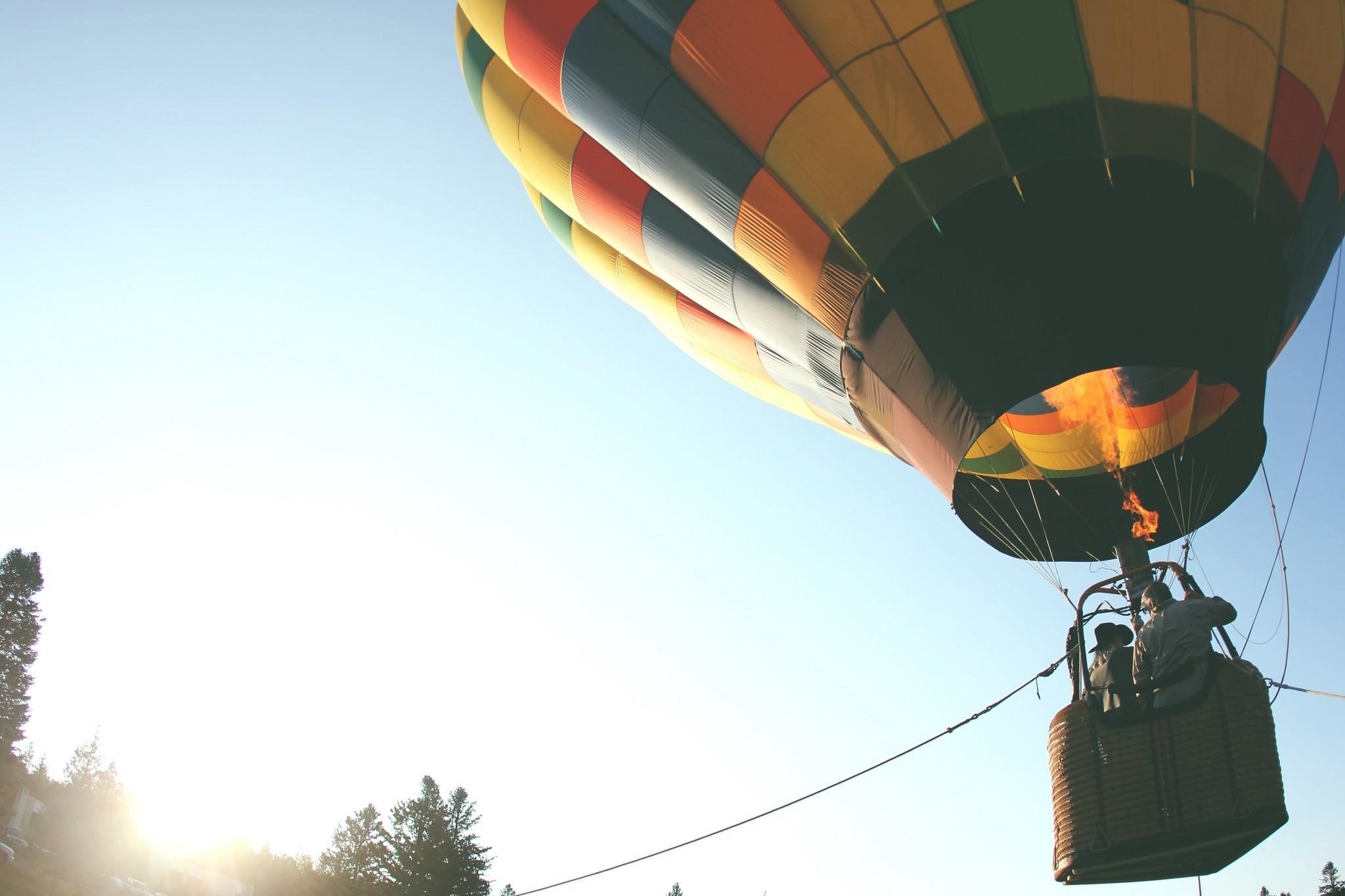 Fedor Konyukhov Balloon Flight 12/07/2016 Northam, Western Australia