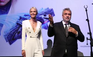 Люк Бессон представил в Москве фильм «Валериан и город тысячи планет» и пообещал снять новый проект в России
