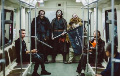 Ходоки спустились в московское метро