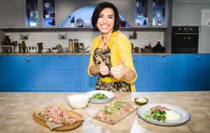 Со 2 сентября на телеканале «Кухня ТВ» стартует новая программа собственного производства о кулинарных вечеринках «Есть тема!»