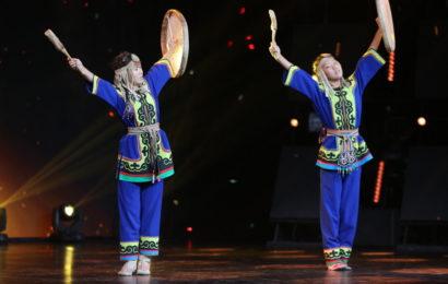 Егор Дружинин исполнил ульчский народный танец  на сцене проекта «Ты супер! Танцы»