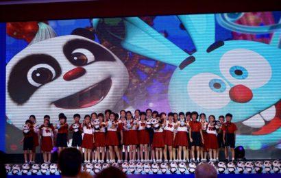 """Официальная презентация российско-китайского анимационного проекта  """"Крош и Панда"""" в Гуанчжоу"""