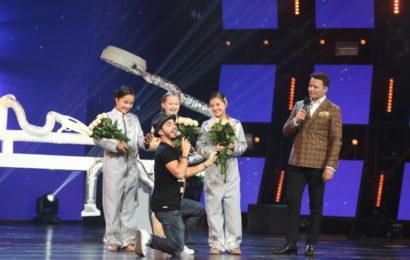 Тимур Родригез спел для участниц проекта «Ты супер! Танцы»